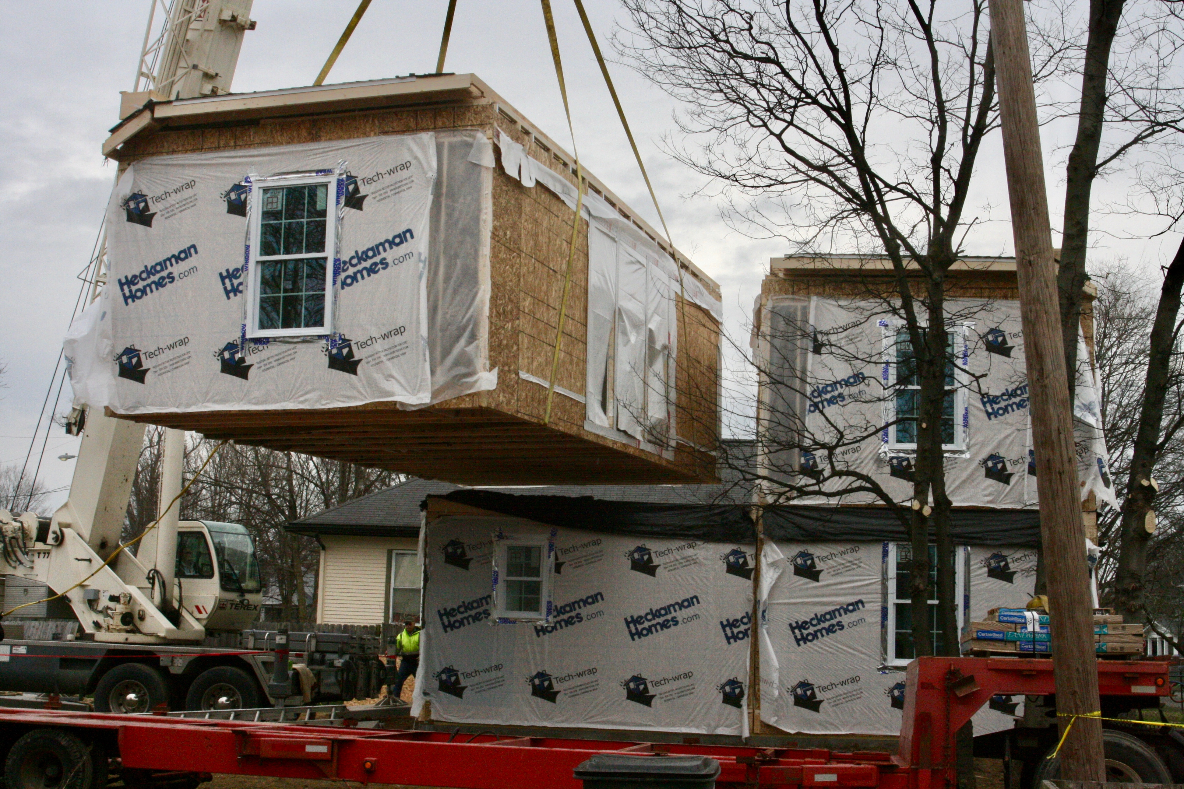 building a modular house in evansville people of praise