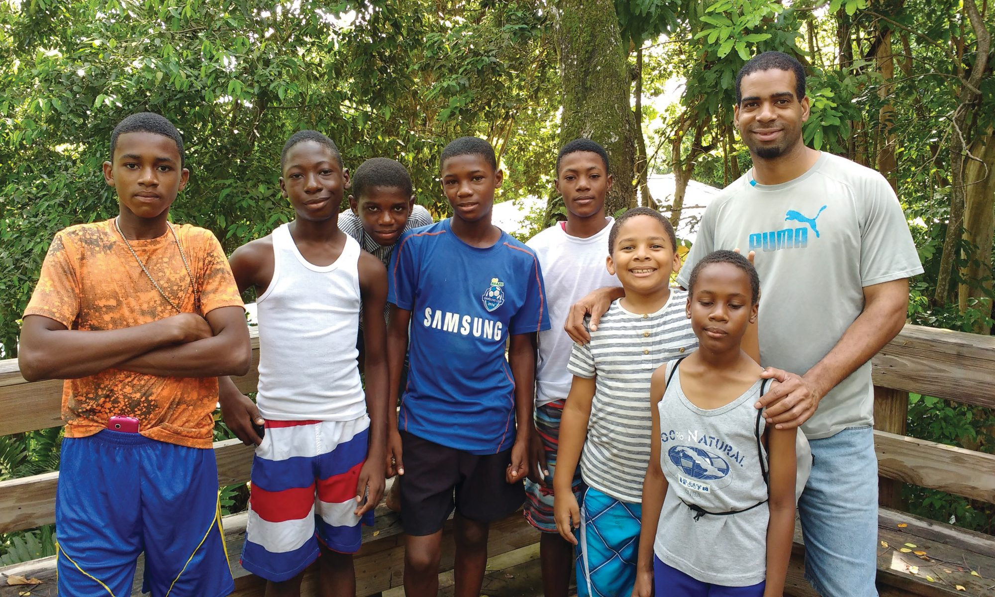 In Jamaica, A Campout for Boys and Men