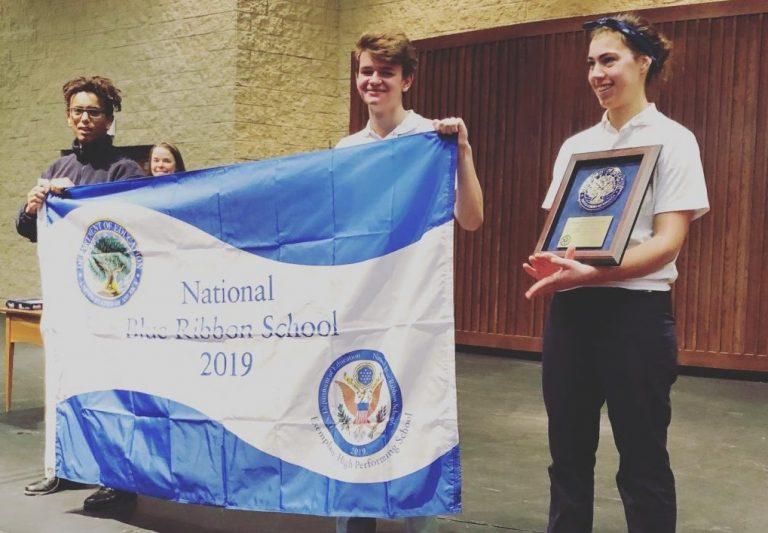 Third Blue Ribbon Award for Trinity School at River Ridge