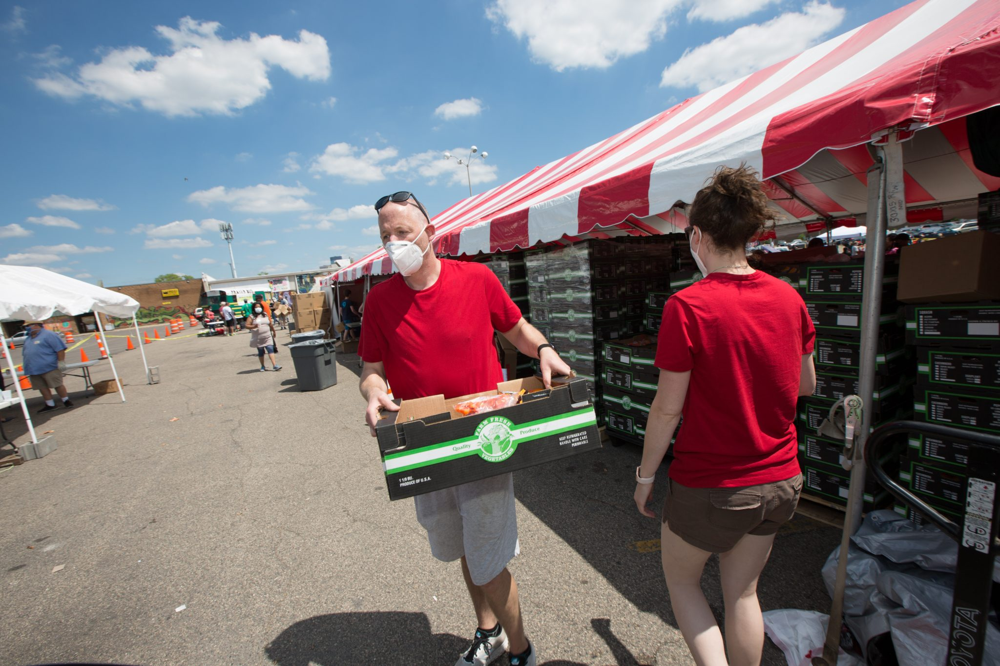 A Massive Food Giveaway in Minneapolis and St. Paul