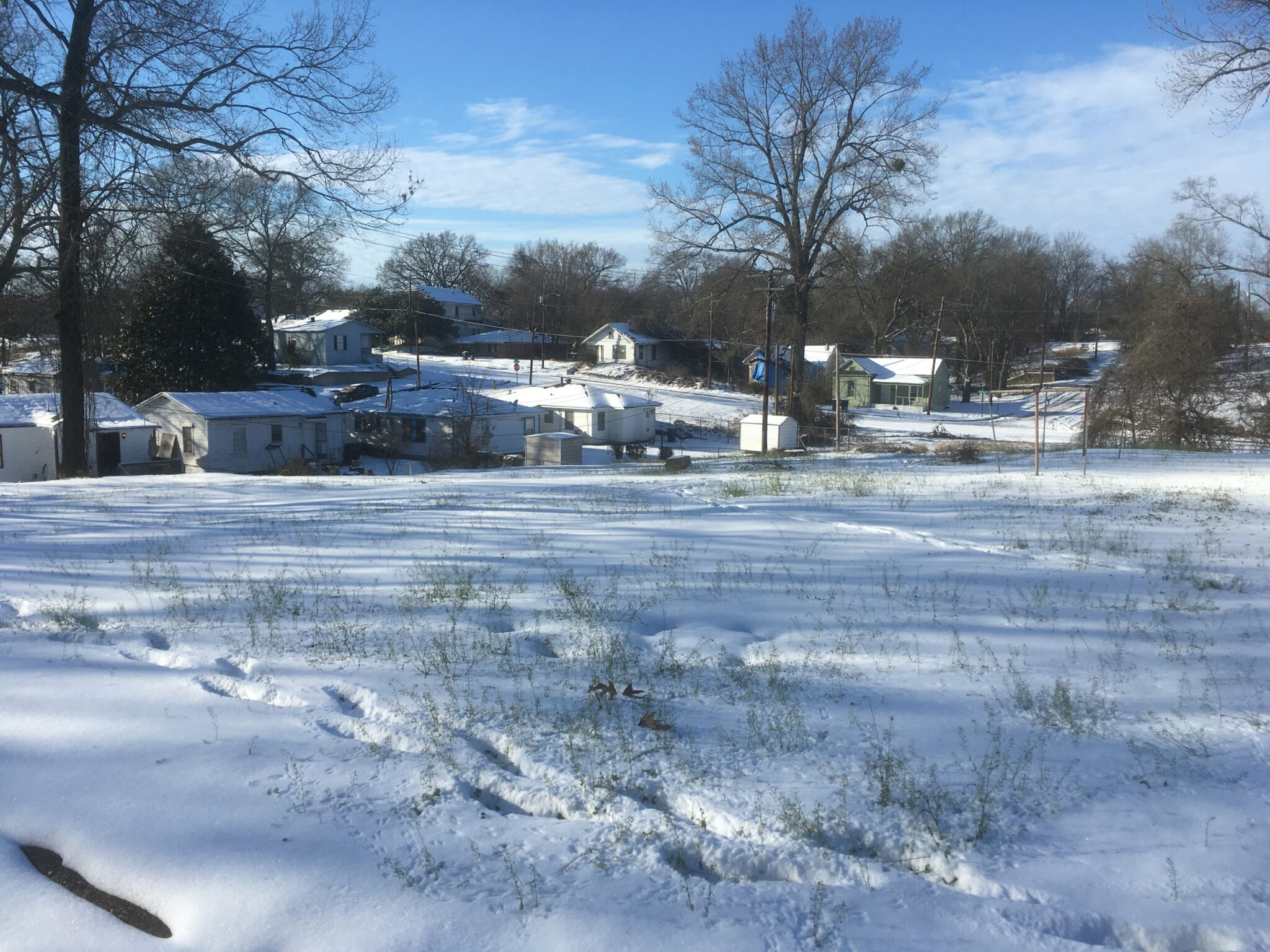 A Snowpocalypse in Shreveport